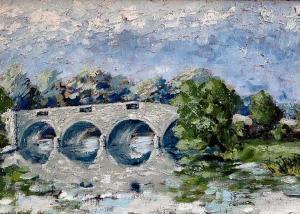 Darrell Mitchell - Chertsey Bridge