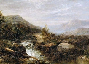 John Brandon Smith - Angler On The Bank Of A Mountain River