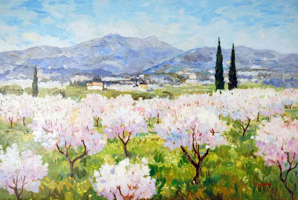Jalon Valley Spain Marcel Gatteaux Jalon Valley