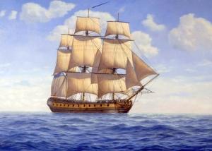 Peter Power - HMS Minerva