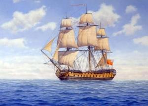 Peter Power - HMS Warwick