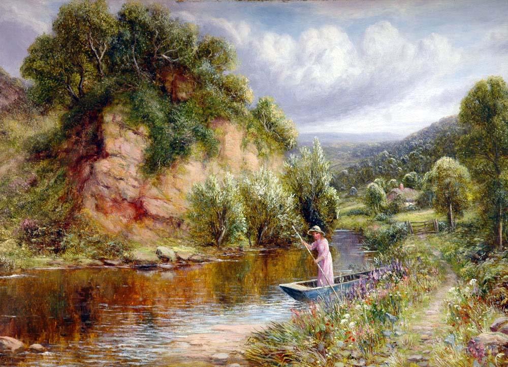 Robert John Hammond - Blackstone Rock, Bewdley, On The River Severn, Worcestershire